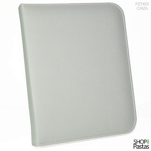 Pasta para Tablet até 10.1 - Com Zíper - Cinza - PZT403