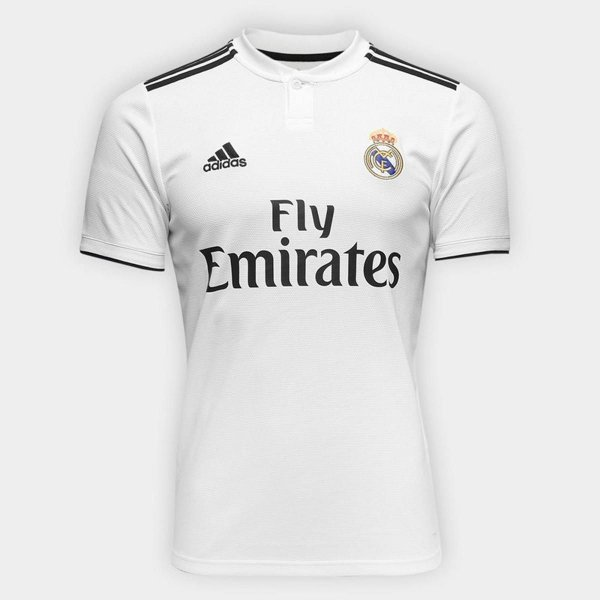 Camisa do Real Madri  2018/2019 Masculina/Feminina Editavel