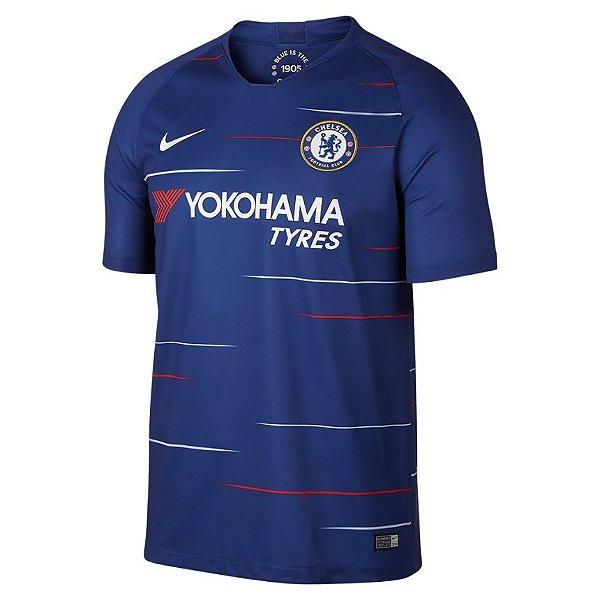 Camisa do Chelsea  2018/2019 Masculina/Feminina Editavel