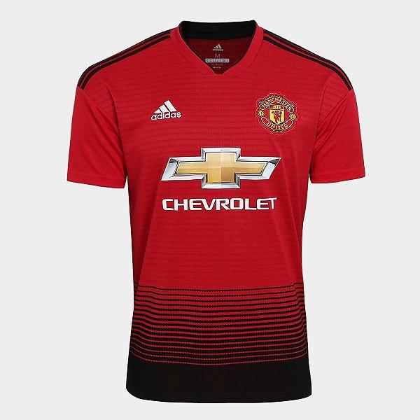 Camisa do Manchester United  2018/2019 Masculina/Feminina Editavel