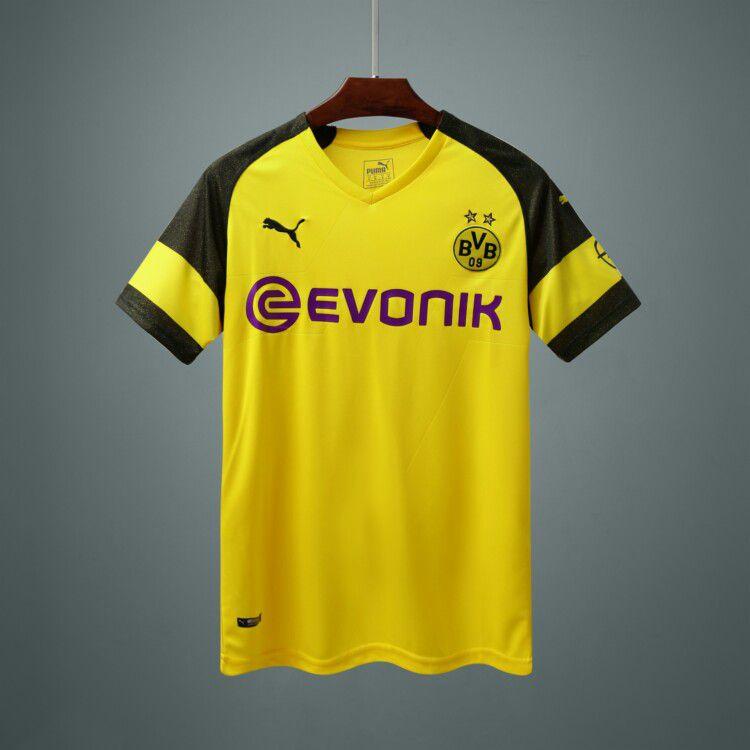 Camisa do Borussia Dortmund 2018/2019 Masculina/Feminina Editavel