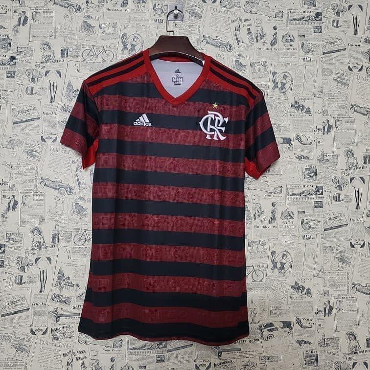 Camisa do Flamengo 2019 Masculina/Feminina Editavel