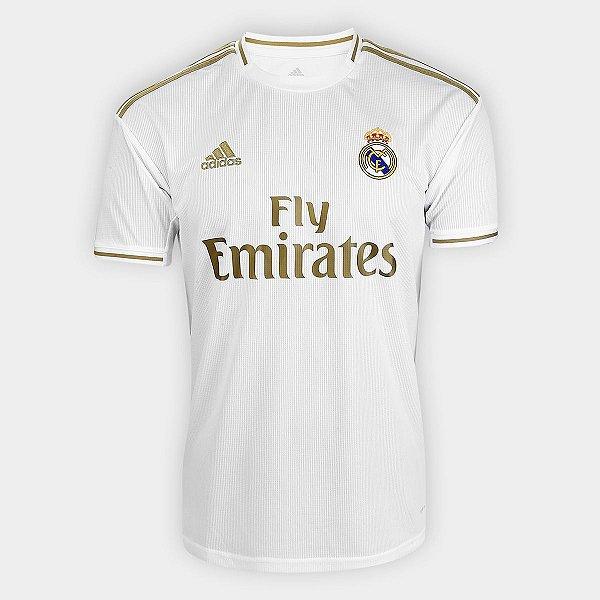 Camisa do  Real Madrid 2020 Masculina/Feminina Editável