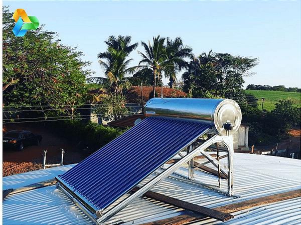 Aquecedor Solar Tubo A Vácuo - Acoplado - 200 Litros
