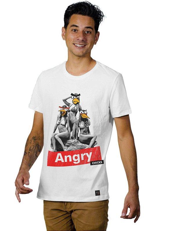 Camiseta Angry Chick