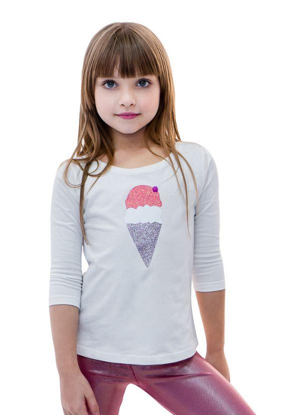 T-shirt Infantil Ice Cream