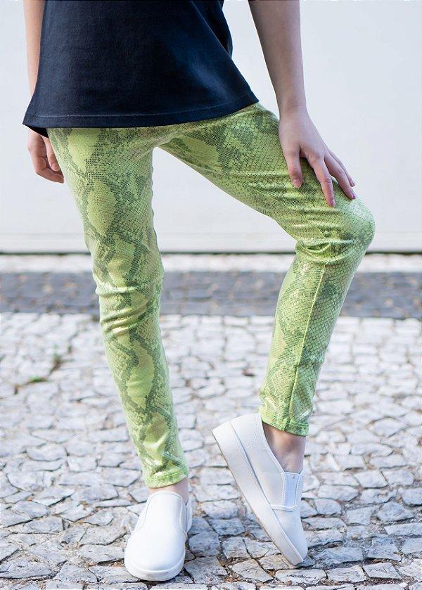 Legging Infantil Green Phiton