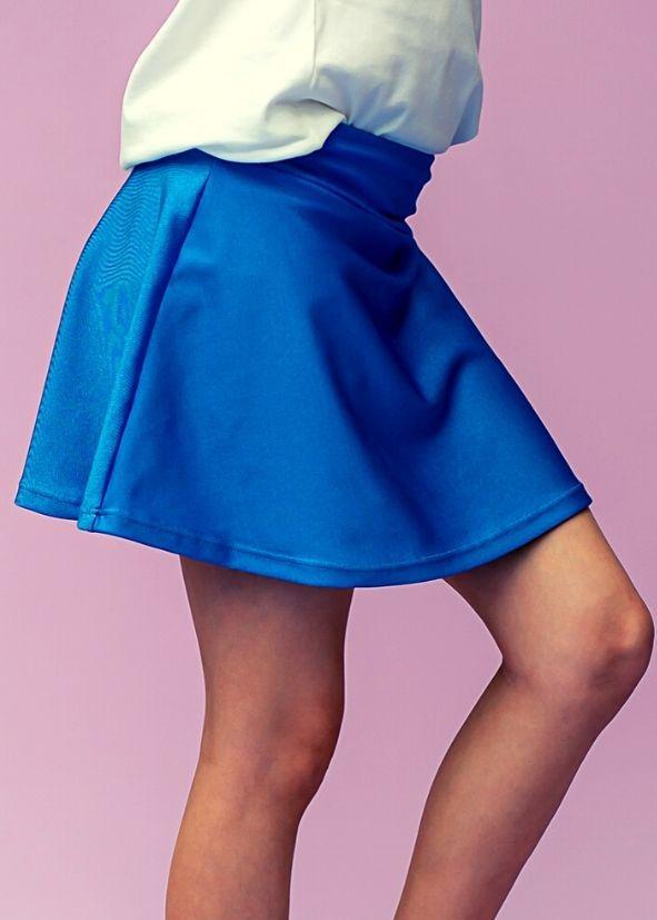 Shorts Saia Lulu Blue Cirre Infantil
