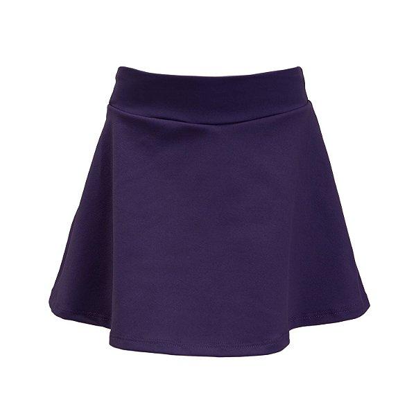 Shorts Saia Roxo Escura