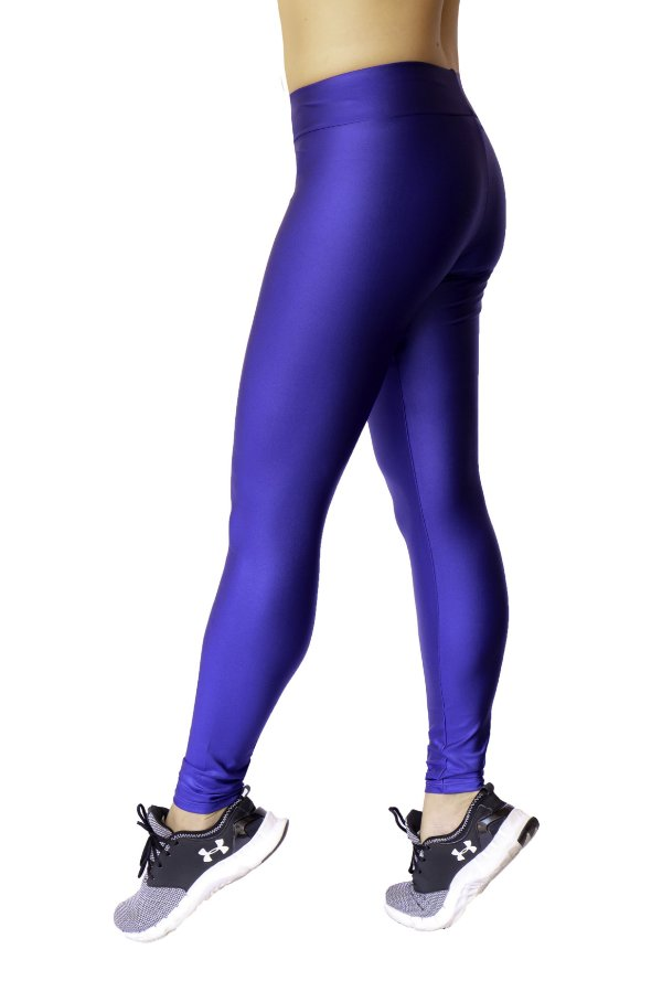 Legging Adulto Azul Royal Brilhante