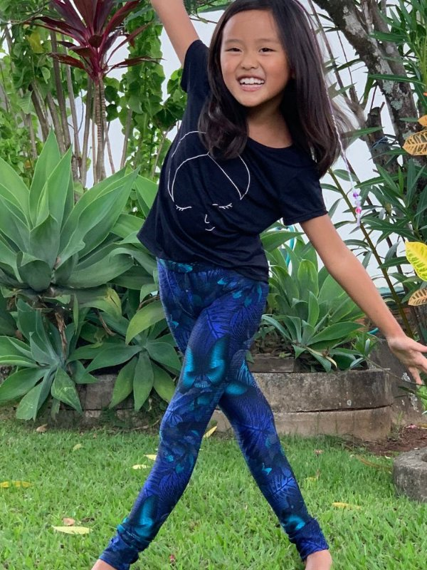 Legging Infantil Cirrê Pandora Brilhante