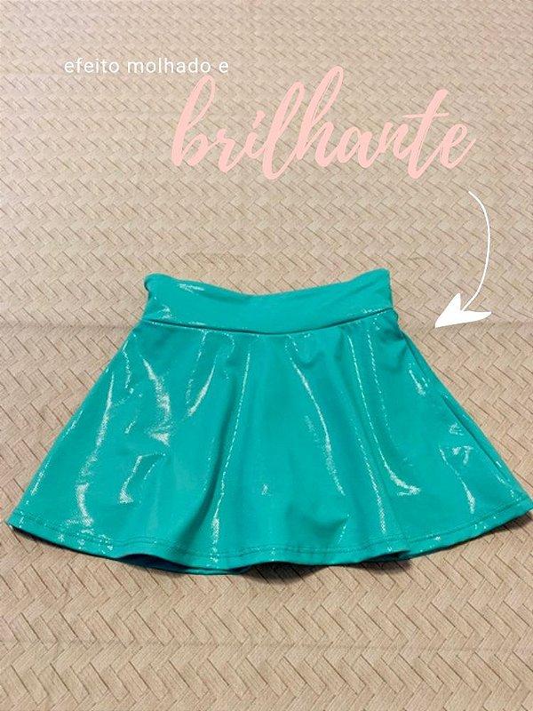 Shorts Saia Sereia Brilhante