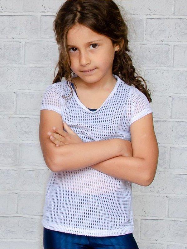 T-shirt Infantil Tela Collab Elaine Violini