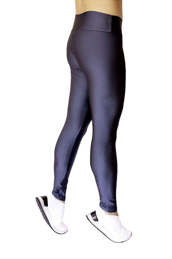 Legging Adulto Azul Petróleo Brilhante Cirrê