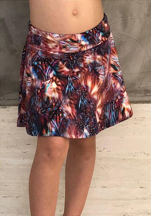 Shorts Saia Infantil Santorini