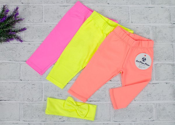 Kit Legging Baby Neon