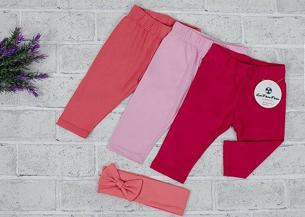 Kit Legging Baby Pink