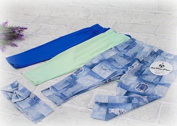 Kit Legging Baby Jeans