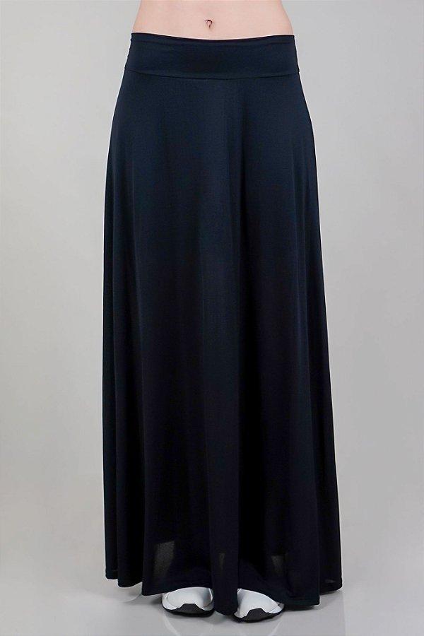 Saia Shorts Adulto Longa Black