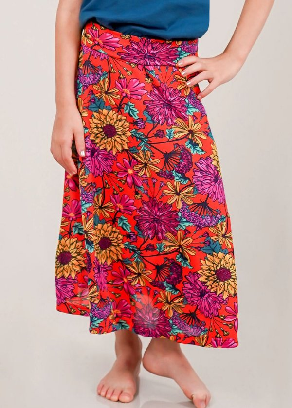 Saia Shorts Infantil Midi Spring