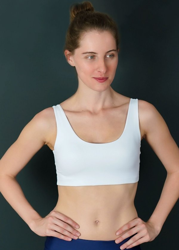 Top Adulto Comfy Branco
