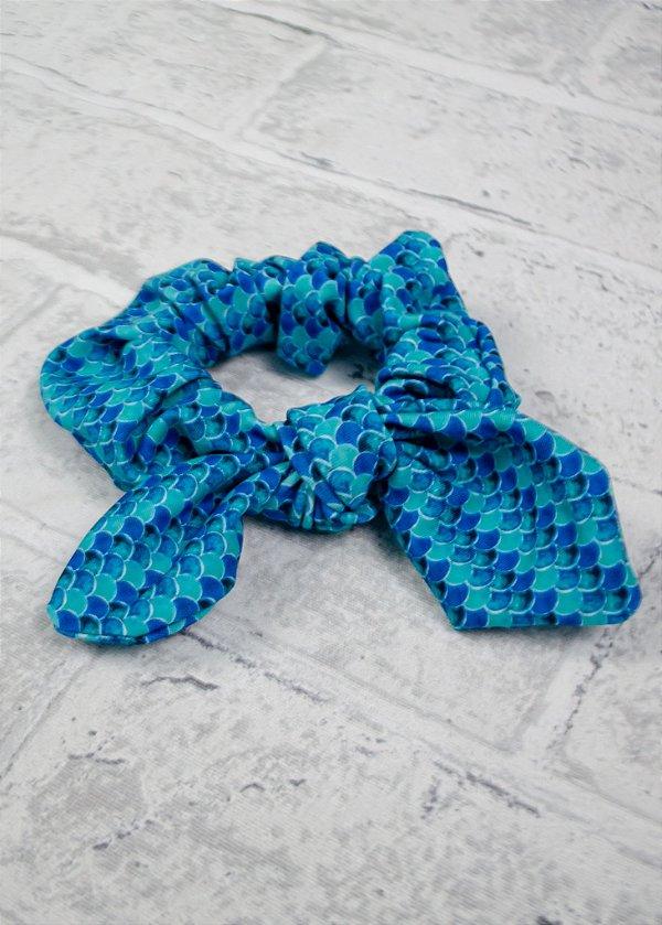 Scrunchie Sereia Aquamarine