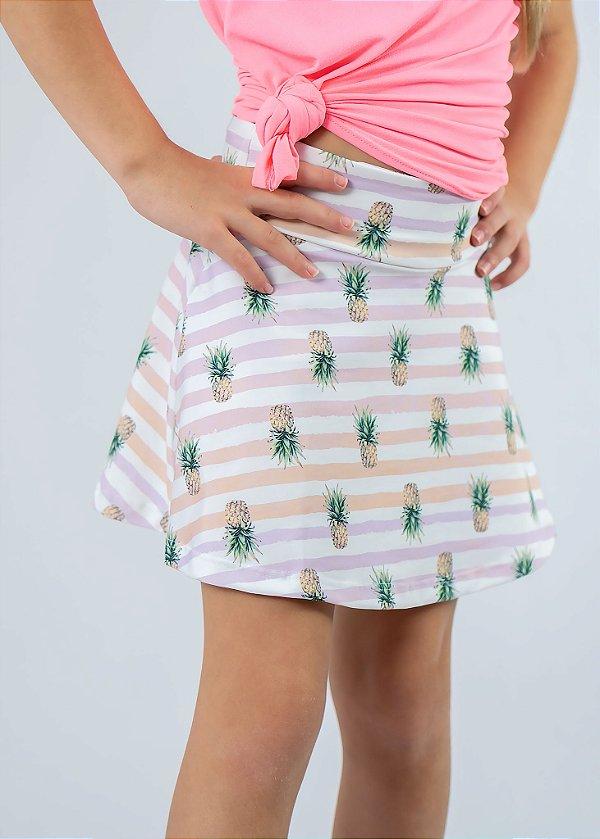 Shorts Saia Infantil A Tropical