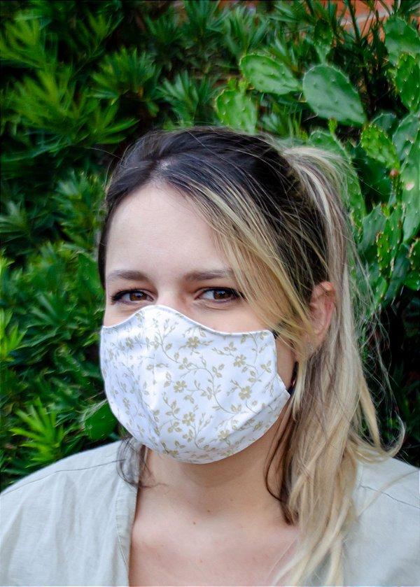Máscara Feminina Flores