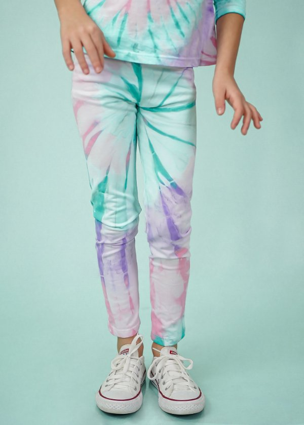 Legging Infantil Tie Dye Candy
