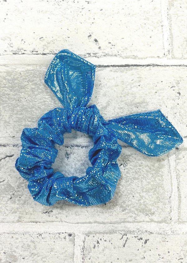Scrunchie Blue Mermeid