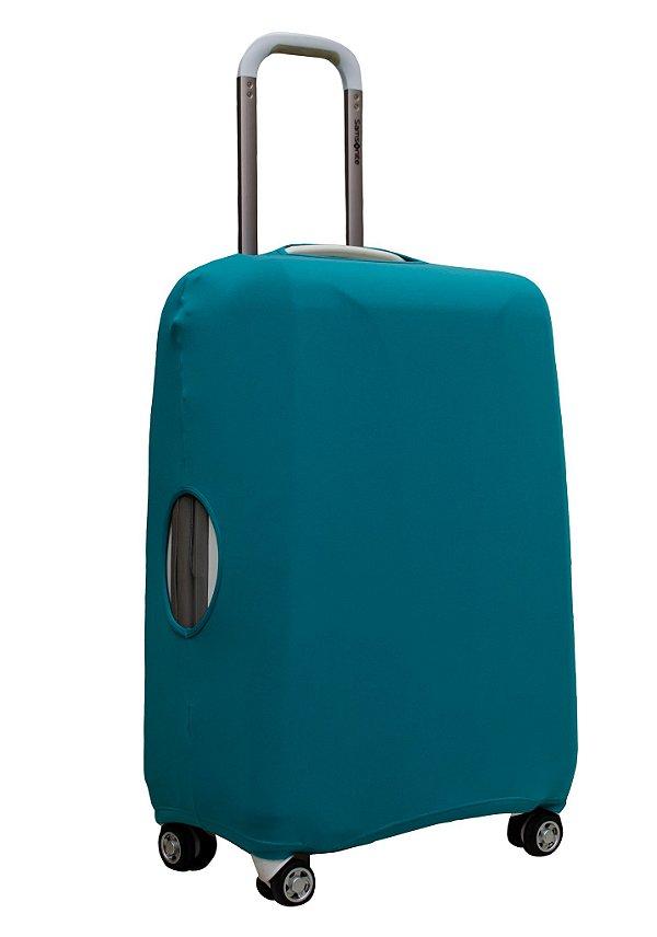 Capa Protetora Para Mala Azul Turquesa