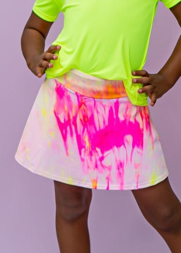 Shorts-Saia Splash infantil