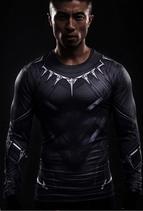 Camisa Pantera Negra 2018