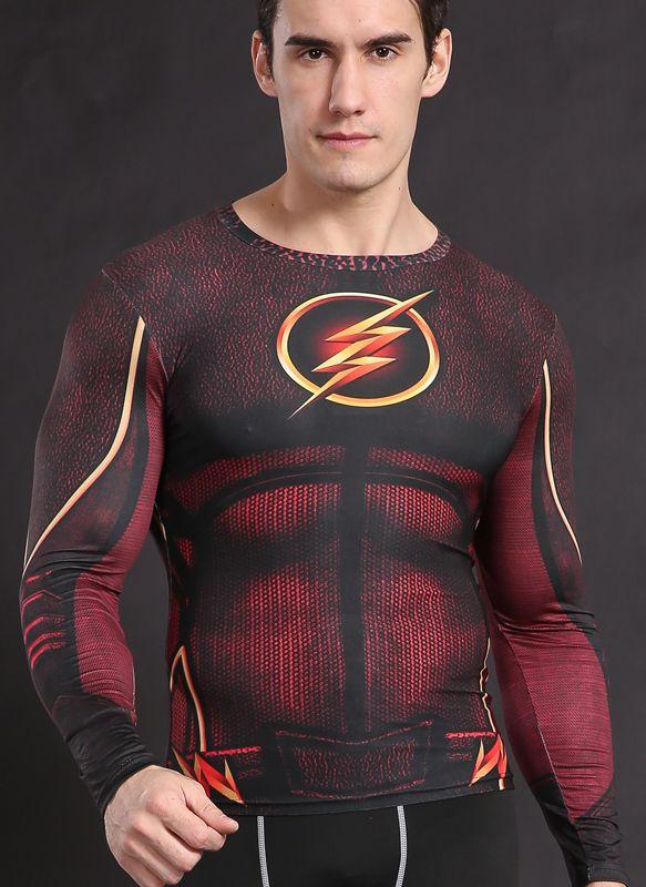 Camisa Flash Liga da Justiça
