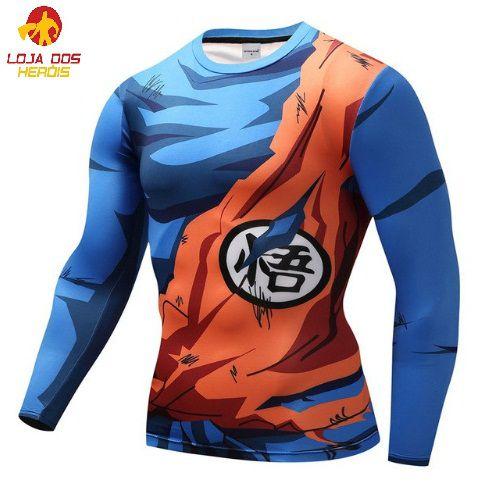Camisa Goku Batalha II - Dragon Ball Super