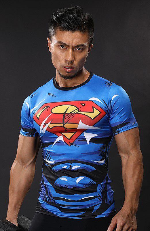 Camisa Superman Thunder