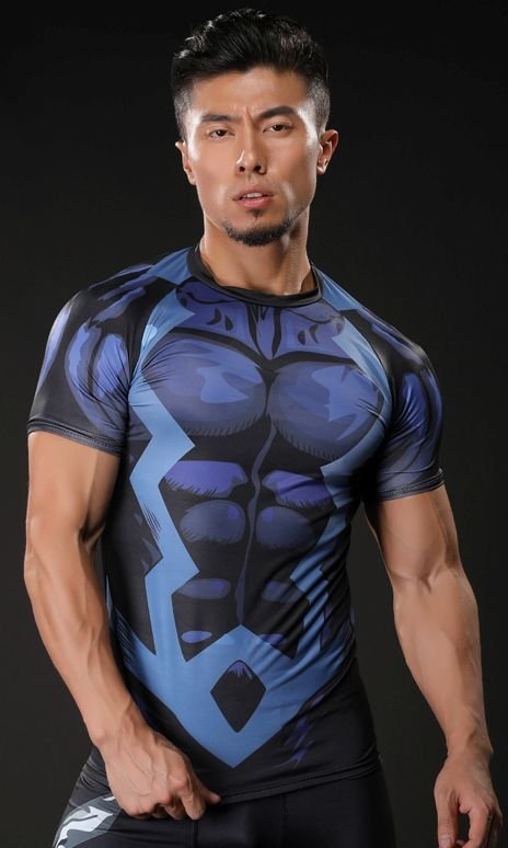 Camisa Raio Negro Marvel