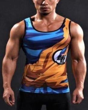 Camisa Goku Regata - Dragon Ball Super