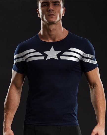 Camisa Clássica Capitão América
