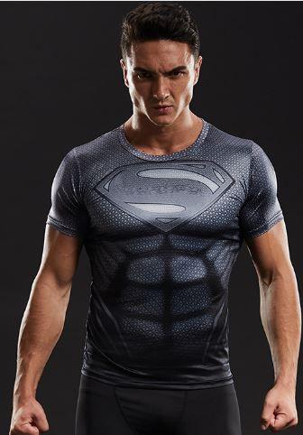 Camisa Superman Black Titanium - Filme o Retorno do Superman 2019