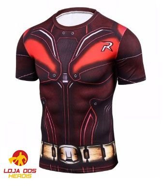 Camisa Robin - Injustice Batman