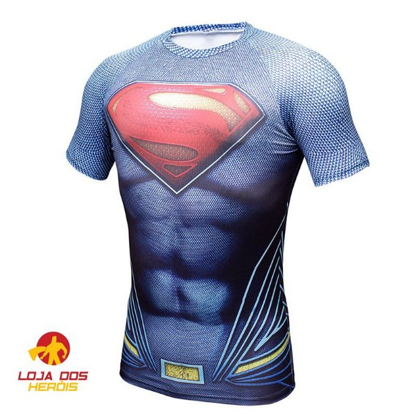 Camisa Compressão Superman
