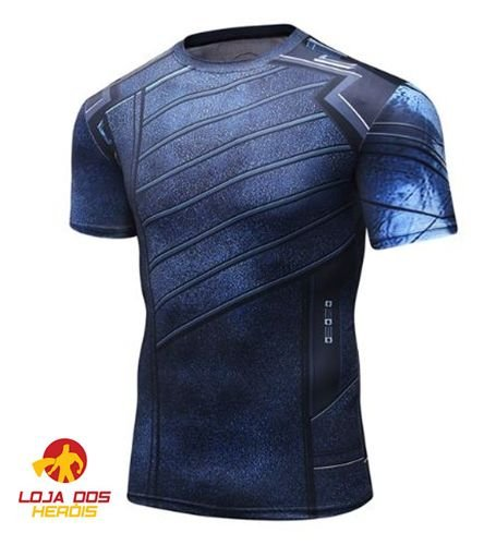 Camisa Soldado Invernal - Vingadores Guerra Infinita