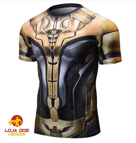 Camisa Thanos Batalha - Guerra Infinita