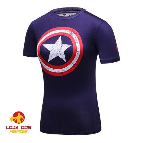 Capitão América Clássica - Feminina