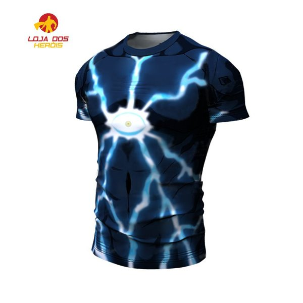Camisa Lord Boros One Punch Man Curta