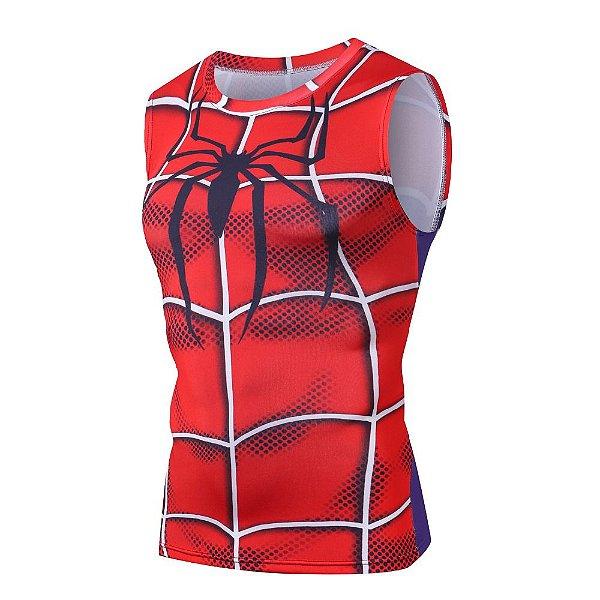 5678635e1231a Camisa Camiseta Homem Aranha - Game Regata Compressão Térmica e 3D ...