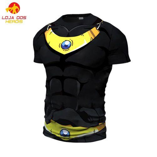 Camisa Broly Modelo II - Dragon Ball Super