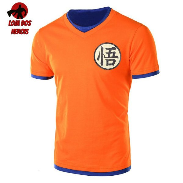 Camisa Goku Clássica - Dragon Ball V2