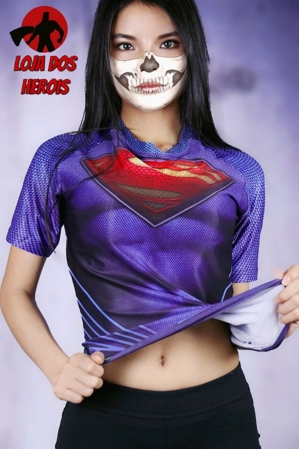 Camisa Feminina Superman - Filme